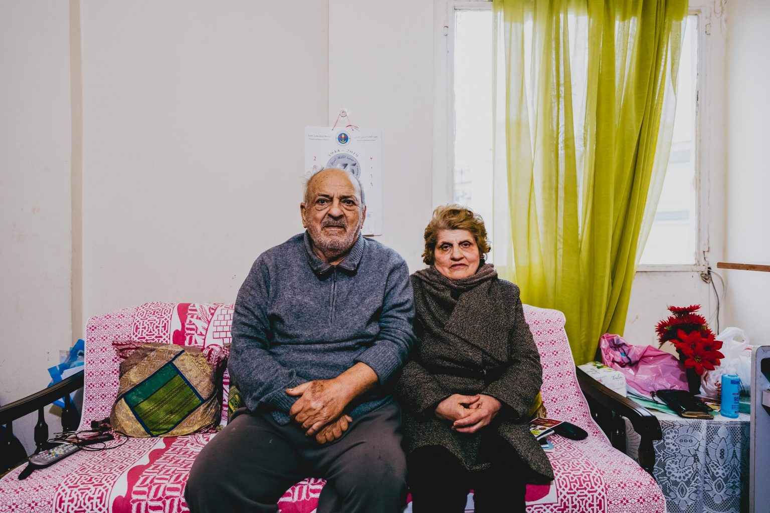 Christian refugee in Beirut, Lebanon who fled the Islamic State in Iraq