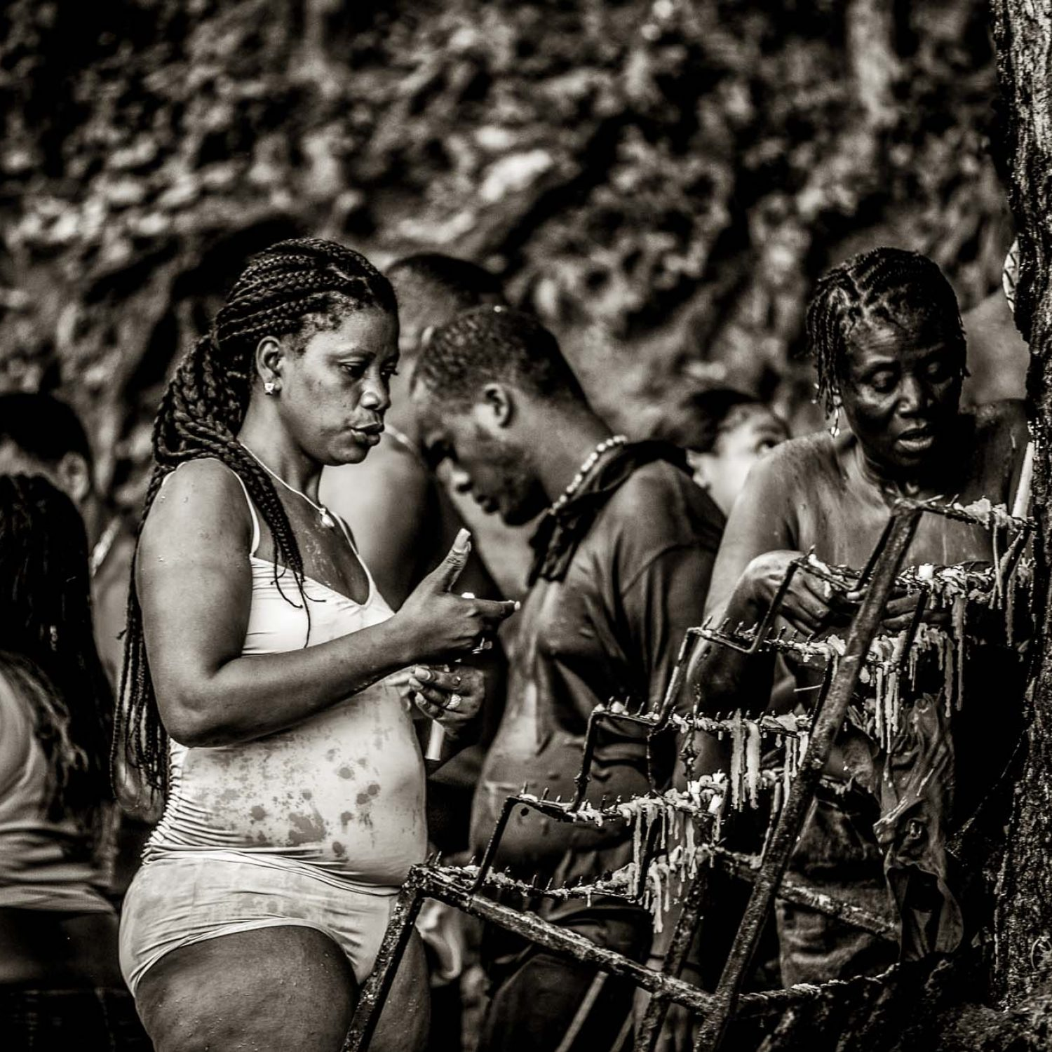 VOODOO BATHS IN HAITI:  FROM BEAUTY TO FIERCENESS