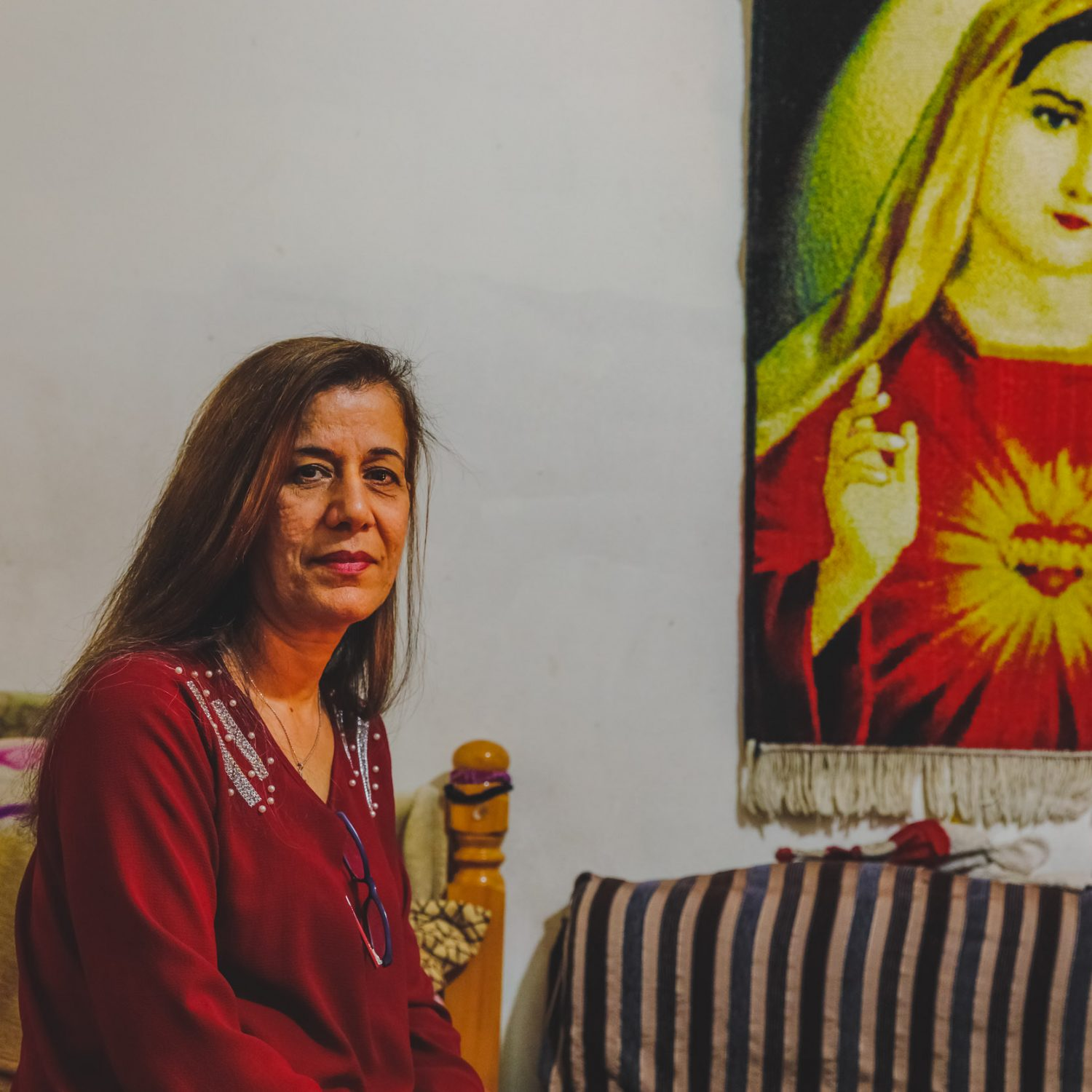 FORCED TO FLEE ISIS: THE EXILE ROUTE OF HAIFA AND HER IRAQI FAMILY